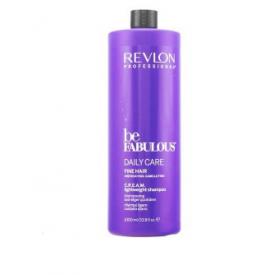 Revlon Be Fabulous Daily Care Cream Lightweight sampon vékonyszálú hajra, 1000 ml