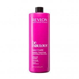 Revlon Be Fabulous Daily Care Cream sampon normál/vastagszálú hajra, 1000 ml