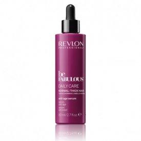 Revlon Be Fabulous Daily Care hajöregedésgátló szérum normál/vastagszálú hajra, 80 ml