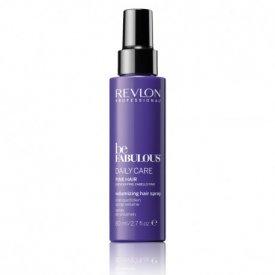 Revlon Be Fabulous Daily Care Volumizing spray vékonyszálú hajra, 80 ml