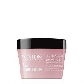 Revlon Be Fabulous Texture Care Cream Anti-frizz maszk egyenes hajra, 200 ml