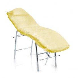 Roial frottír kozmetikai ágyhuzat, sárga, 80x200 cm