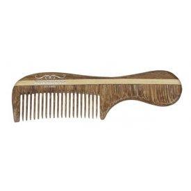 Sibel Barburys barber kecskeszakáll mini rózsafa fésű 03