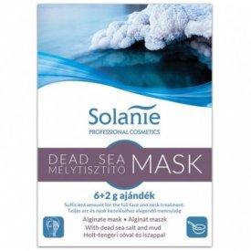 Solanie alginát holttengeri tisztító maszk, 8 g