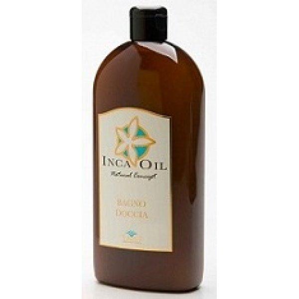 TMT Inca Oil Bagno Doccia természetes tápláló emulzió fürdővízbe inca olajjal és növényi kivonatokkal, 500 ml
