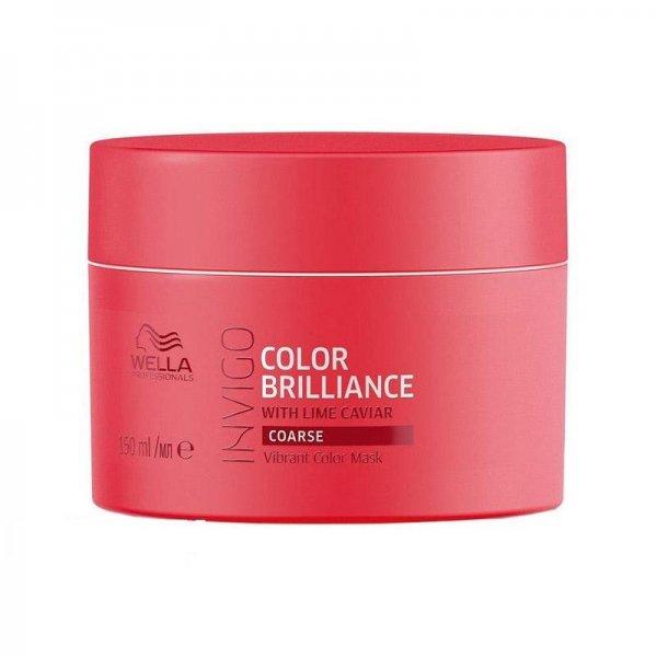 Wella Professionals Invigo Color Brilliance tápláló hajpakolás festett vastag szálú hajra, 150 ml