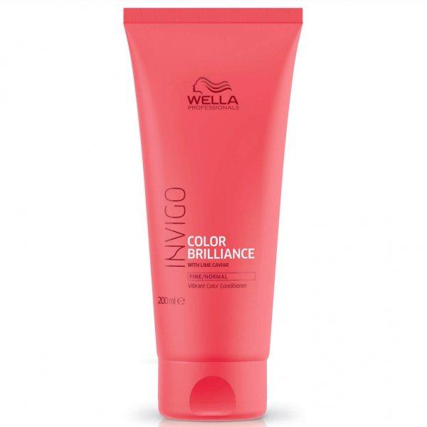 Wella Professionals Invigo Color Brilliance Coarse kondicionáló vastag szálú festett hajra, 200 ml