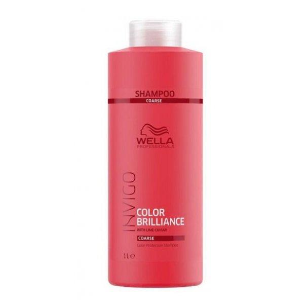 Wella Professionals Invigo Color Brilliance sampon vastag szálú festett hajra, 1000 ml