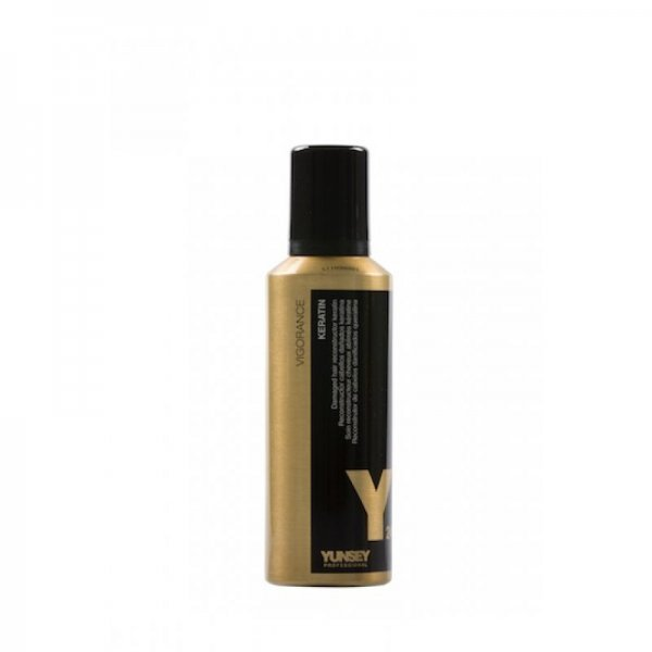 Yunsey 24K Arany hajújraépítő folyékony haj argánolajjal és keratinnal, 200 ml