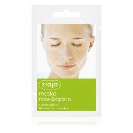 Ziaja hidratáló arcmaszk zöld agyaggal, 7 ml