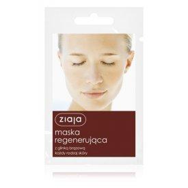 Ziaja regeneráló arcmaszk barna agyaggal, 7 ml