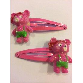 Byou pink macis gyerek csit csat, 2 db