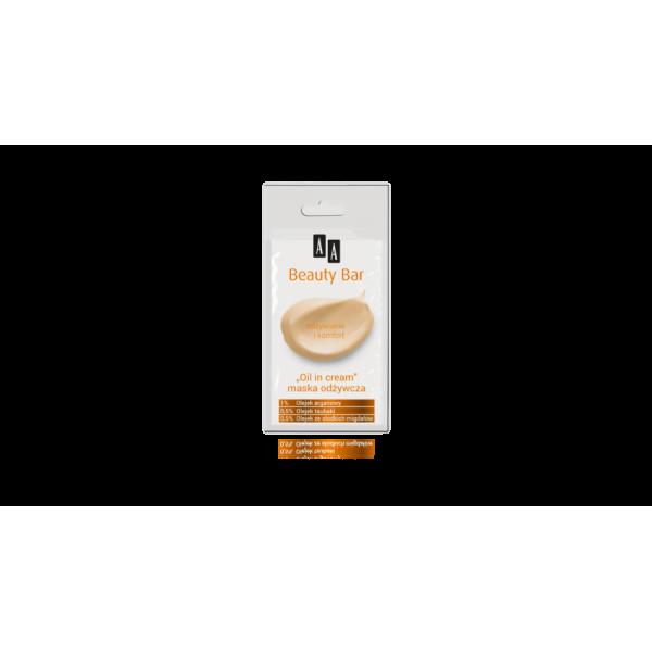 AA Beauty Bar tápláló arcpakolás olajokkal, 8 ml