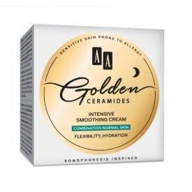 AA Golden Ceramides intenzív bőrkisimító éjszakai arckrém kombinált és normál bőrre, 50 ml