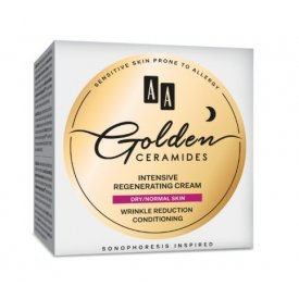 AA Golden Ceramides intenzív regeneráló éjszakai arckrém száraz és normál bőrre, 50 ml