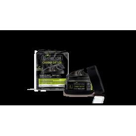 Bielenda Carbo Detox mattító és hidratáló 24h arckrém aktív szénnel zsíros és kombinált bőrre, 50 ml