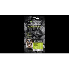 Bielenda Carbo Detox tisztító pakolás aktív szénnel zsíros és kombinált bőrre, 8 g