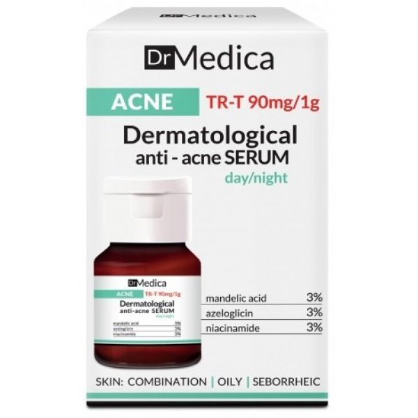 Bielenda Dr. Medica dermatológiai anti akne szérum, 30 ml