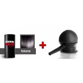 Cover Hair Volume hajdúsító, 30 g, fekete + szórófej