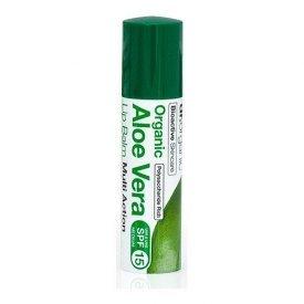 Dr. Organic Bio Aloe Vera ajakbalzsam, 5,7 ml