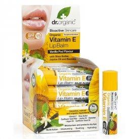 Dr. Organic Bio E-Vitaminos ajakbalzsam, 5,7 ml