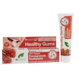 Dr Organic Bio Gránátalma fogkrém, 100 ml