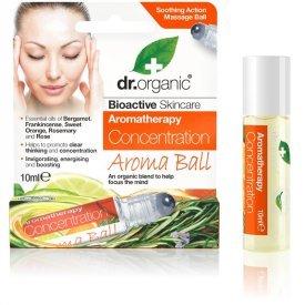 Dr Organic fókuszálás Aroma Ball golyós illóolaj-keverék, 10 ml