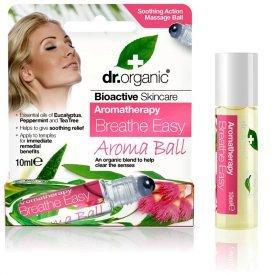 Dr Organic könnyű légzés Aroma Ball golyós illóolaj-keverék, 10 ml