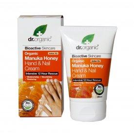 Dr. Organic Bio Manuka mézes kéz- és körömápoló, 125 ml