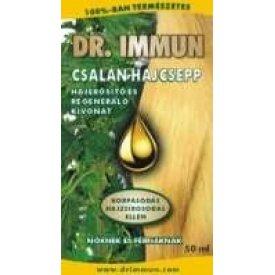 Dr. Immun csalán hajcsepp korpás, zsíros hajra és hajhullás ellen, 50 ml
