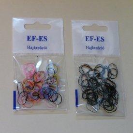EF-ES átlátszó szilikon gyűrű, vékony
