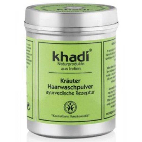 Khadi gyógynövényes hajmosó por kisbabáknak is, 150 g