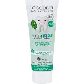Logodent Fresh Kids Fluoridmentes gyermek foggél bio mentával, 50 ml