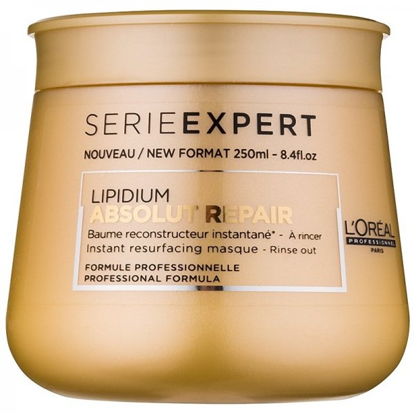 Loreal Professionel Serie Expert Lipidium Absolut Repair hajpakolás, 250 ml