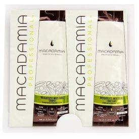 Macadamia Weightless Moisture sampon+kondicionáló, 2x10 ml