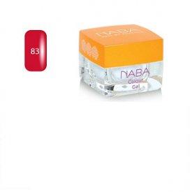 NABA Colour Gel színes zselé, 83 Hibiscus, 3,5 ml