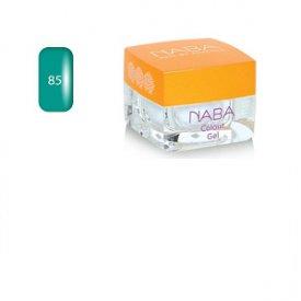 NABA Colour Gel színes zselé, 85 Aqua, 3,5 ml