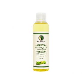Sara Beauty Spa citromfű masszázsolaj argánolajjal, 250 ml