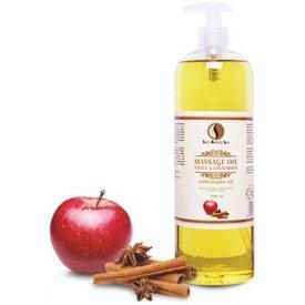Sara Beauty Spa alma és fahéj masszázsolaj argánolajjal, 1000 ml