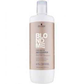 Schwarzkopf blondme prémium ápoló színelőhívó emulzió 6%, 1 L