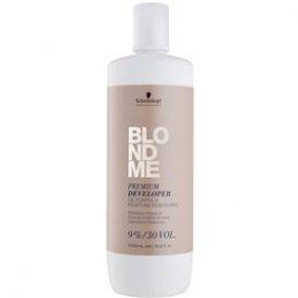 Schwarzkopf blondme prémium ápoló színelőhívó emulzió 9%, 1 L