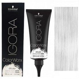 Schwarzkopf Igora Colorworx fizikai hajszínező 100 ml, fehér higító
