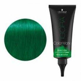 Schwarzkopf Igora Colorworx fizikai hajszínező 100 ml, zöld