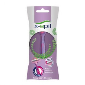 X-Epil eldobható női borotva 3 pengés, 1 db XE9240