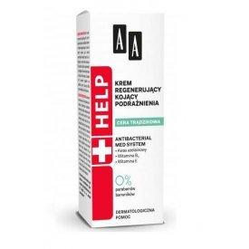 AA Help Acne Skin nyugtató, regeneráló éjszakai arckrém, 40 ml