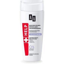 AA Help Dilated Capillaries bőrpírt csökkentő arclemosó tej, 200 ml