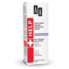 AA Help Dilated Capillaries érfal erősítő, védő éjszakai arckrém, 50 ml