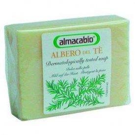 Almacabio teafa illatú natúr szappan
