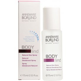 Annemarie Börlind Body Lind natúr dezodor spray friss illattal, 75 ml