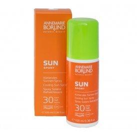 Annemarie Börlind Sun Sport hűsítő napozó spray SPF 30, 100 ml